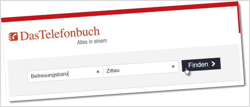 Screenshot: Telefonbuch.de